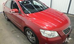 2006 Toyota Aurion GSV40R AT-X Wildfire 6 Speed