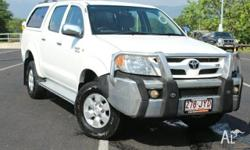 SR5 TOP OF THE RANGE TOYOTA HILUX SR5 DUAL CAB 5 Speed