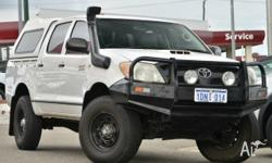2006 TOYOTA HILUX SR D4D 4x4 Work Truck for all you
