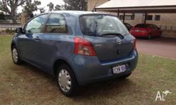 TOYOTA Yaris, reliable car, low Kms (119,100), fuel