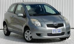 This Toyota Certified Manual 3 Door Yaris Hatch comes