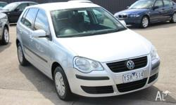 2006 Volkswagen Polo 9N MY2007 Match Silver 6 Speed