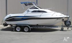 2006 WHITTLEY VOYAGER 580,MERCRUISER 135HP ALPHA 1,