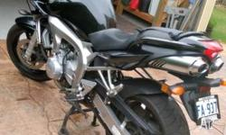2006 Yamaha FZ6S, semi naked sports bike. Full service