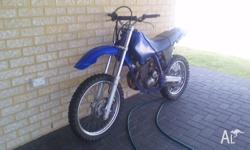 selling my dirt bike good condition can be used as a