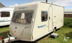 This 2007 Bailey Ranger 460�4 berth caravan is a