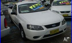 2007 Ford Falcon BF MkII XL (lpg) Lpg / White 4 Speed