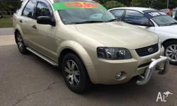 2007 Ford Territory AWD SR 6 Cyl 6 Speed Auto Wagon