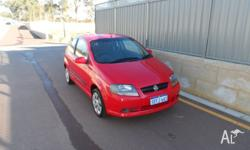 2007 Holden Barina TK 3door, 1.6 16v 5speed $3,500 For