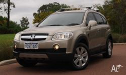 Holden Captiva LX 2007 Have a big family and need to