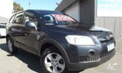 Holden Captiva SX Wagon. Automatic transmission,