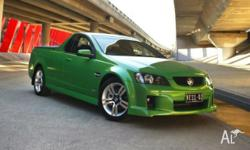 2007 HOLDEN VE SS COMMODORE UTE, LOADED WITH EXTRAS