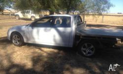 This is a very reliable ute with aluminium tray and 17""