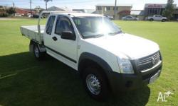 2007 Holden Rodeo RA MY07 LX White 4 Speed Automatic