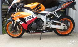 Genuine limited edition Repsol for sale. Has both brand