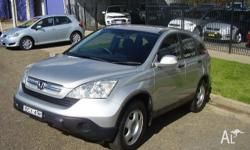 2007 Honda CR-V RE MY2007 (4X4) Silver 5 Speed