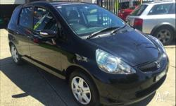 -HONDA JAZZ VTI -MODERN/SPORTY/ZIPPY AND ECONOMICAL ALL