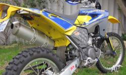 2007 Husqvarna TE610 Dual Sport Big do-it-all thumper