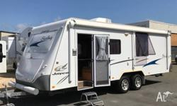 Built by Australia's largest caravan manufacturer