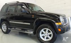 This Diesel Jeep Cherokee Limited has it all. Finished