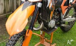 2007 KTM 125sx. Owned since new. Done 70 genuine hours
