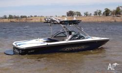 21.6ft immaculate wake boat in every respect, Indmar