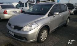 2007 Nissan Tiida Features: 1.8L, 4 Cyl Auto, Power