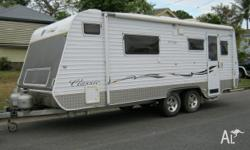 Year: 2007 Tandem Axle Offroad Caravan, Roll Out