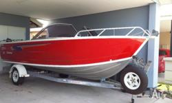 2007 stacer seascape 549. 135hp Mercruiser (approx 132