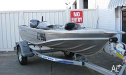 2007 STESSL 340 EDGETRACKER This little boat is