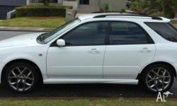 MY07 White Subaru Impreza Great mechanical and internal