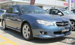 *2007 BLUE SUBARU LIBERTY 4GEN AWD 5 SP MANUAL