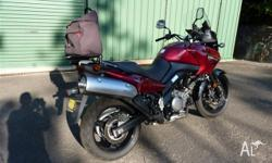 This is a very near new condition 2007 Suzuki DL 650 in
