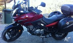 2007 vstrom 650 with rego until mid April 2014 Heated
