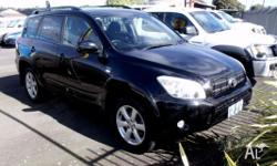 Toyota Rav 4 Cruiser. Heaps of options Full service