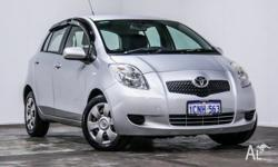 Great value Toyota Yaris YRS Hatch! This lovely little