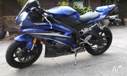 Hi I have a 2007 Yamaha R6 for sale...This bike is in