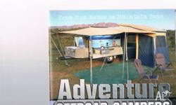 Good condition off road camper featuring Built in