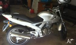 Up for sale we have our 2008 CB250F. Has been garaged