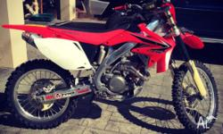 2008 crf4503r solid bike just replaced titanium valves