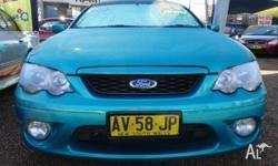 2008 Ford Falcon BF MkII 07 Upgrade XR6 Green 4 Speed