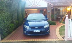 2008 Ford Falcon FG XR6 sports automatic,5 speed