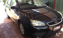Ford Focus LT - Automatic - black 4 new tyres in the