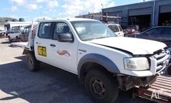 This Ford Ranger has just arrived for parting out (