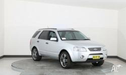 2008 Ford Territory SY MY07 Upgrade Ghia (4X4) Silver 6