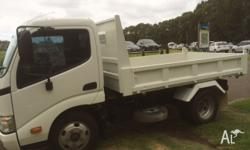 Excellent condition Hino Tipper. One owner, one driver.