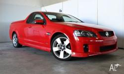This VE SSV ute is a 6.0L performance beast in Racing