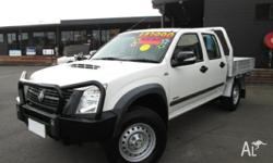 GREAT VALUE DUAL CAB! This 2008 Holden Rodeo Dual Cab