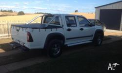 2008 Holden rodeo dual cab 4x4 turbo diesel. Very neat