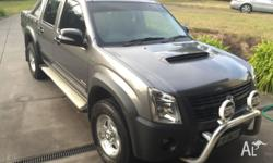 2008 Model Holden Rodeo LX. This car is almost